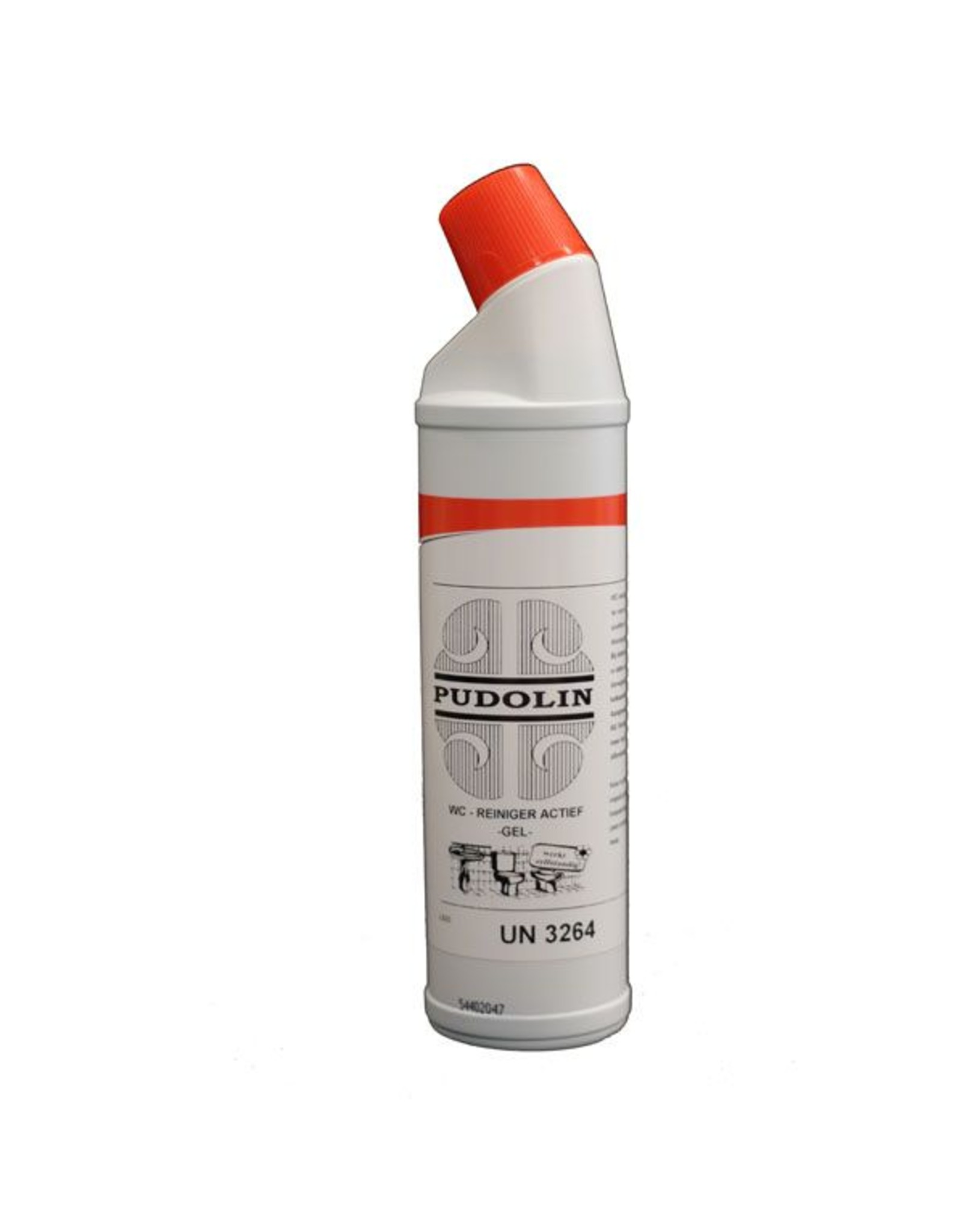 PUDOL WC reiniger Pudolin actief gel 750 ml.