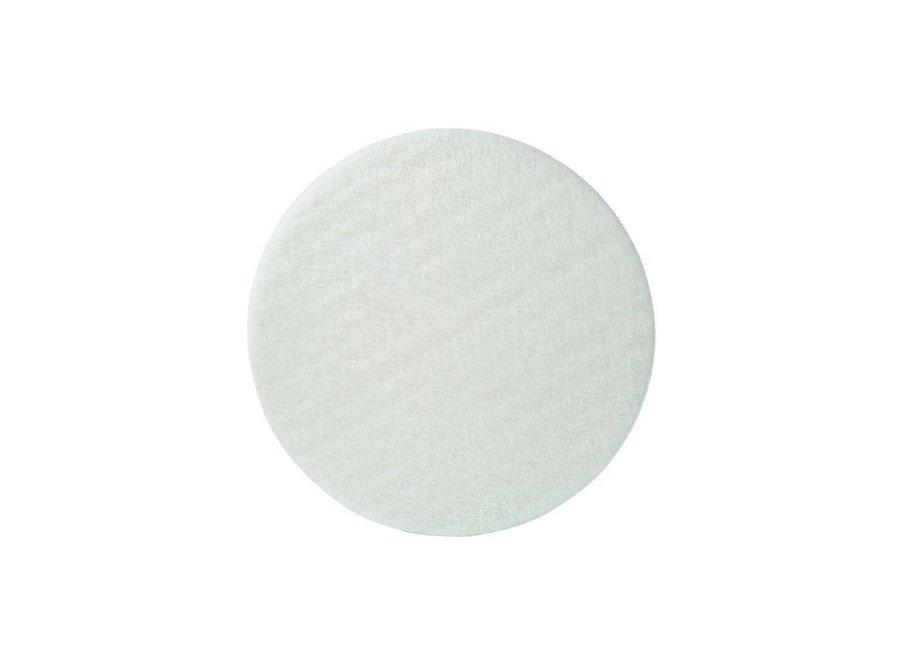 Nylon Pads Wit - 33 CM, 2CM, 13 inch (High Quality)