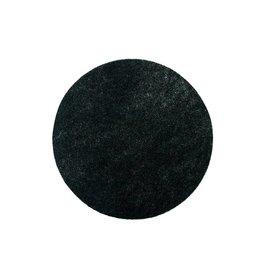 ACOR Nylon Pads Zwart - 40 CM, 2 CM, 16 inch (High Quality)