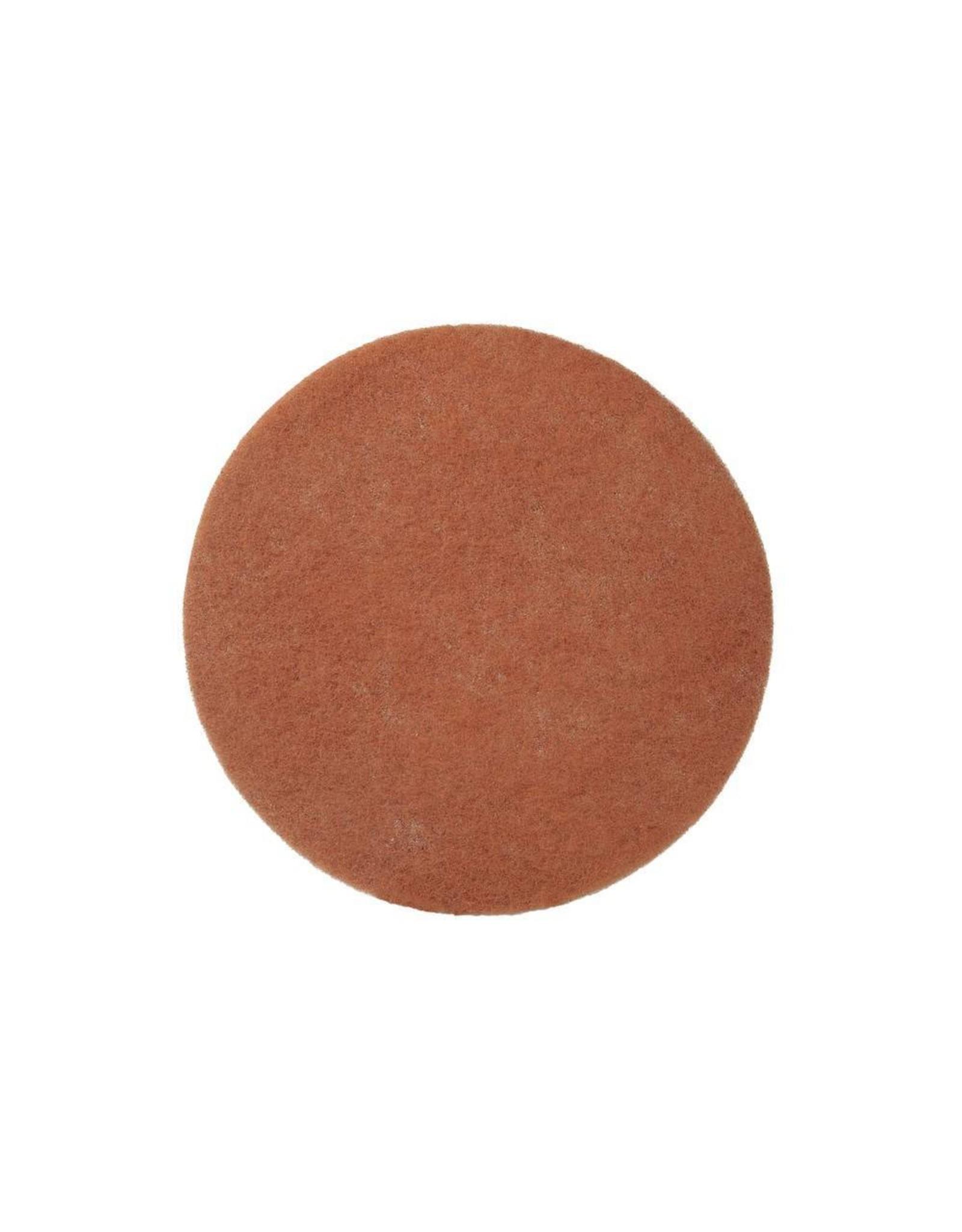 ACOR Nylon Pads Beige - 33 CM, 2 CM, 13 inch (High Quality)