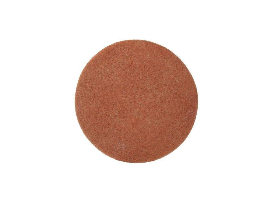 Nylon Pads Beige - 33 CM, 2 CM, 13 inch (High Quality)