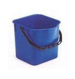 Acor Emmer 18 ltr. blauw vierkant