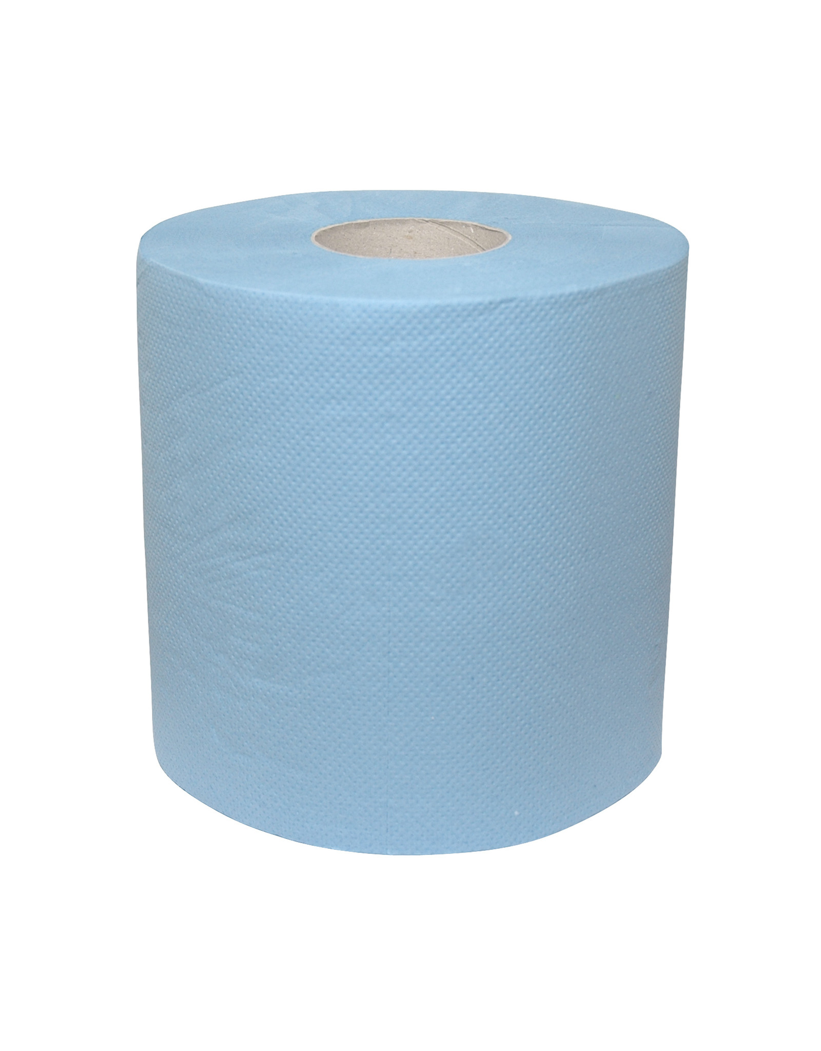 ACOR Midi rol 2-laags cellulose blauw verlijmd 6 x 150 meter.