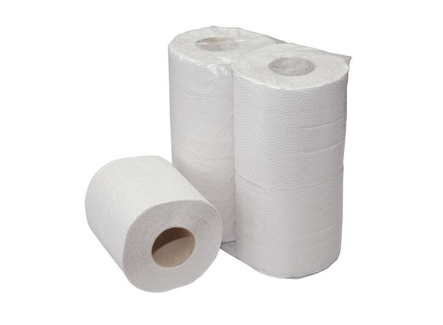 Toiletpapier wit 2-laags 400 Vel cellulose