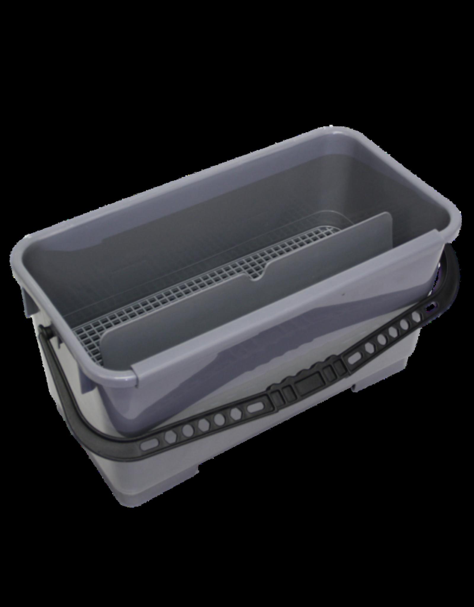 ACOR Rolemmer voor wasverdeling en glasbew. 20 ltr. incl. zeef & rooster