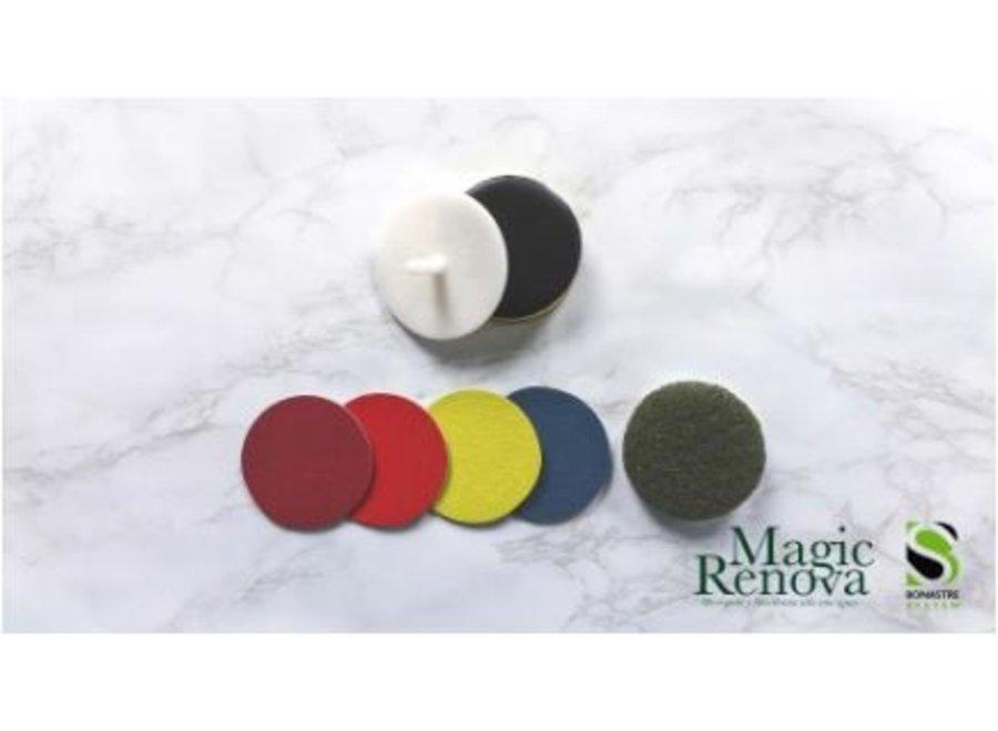 Magic boor/polijstset diameter 75 mm