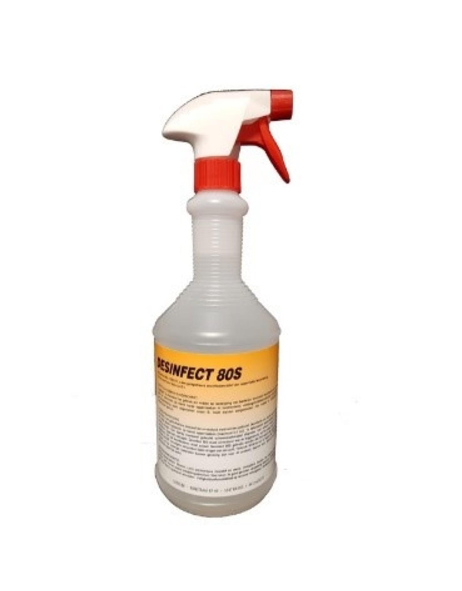 CLEAN Clean Desinfect 80S voor opp. behandeling 1 Ltr.