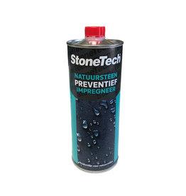 StoneTech Natuursteen Impregneer 1 Ltr voor gepolijst, ongepolijst, gebrand en poreus natuursteen.