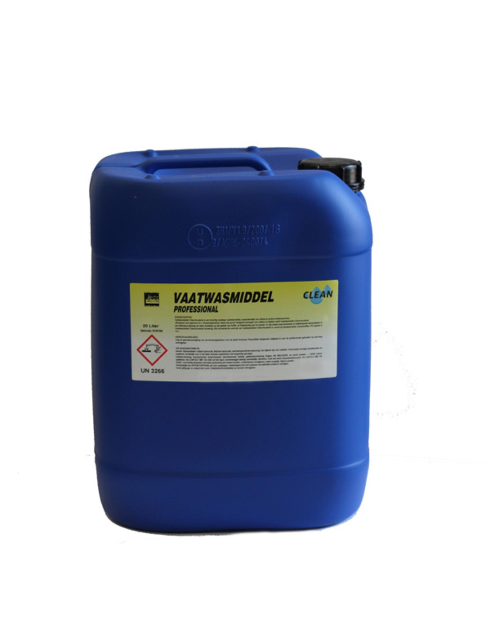 CLEAN Clean Vloeibaar Vaatwasmiddel 20 ltr.professional