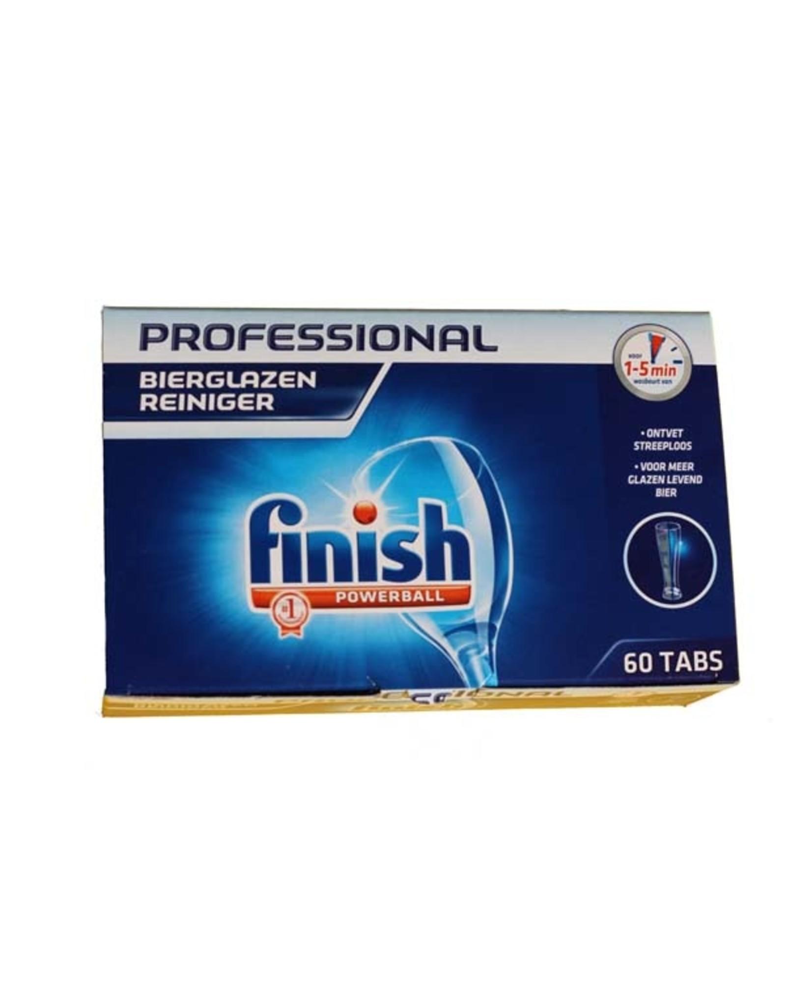 Finish Spoelblokjes 60 tabs (o.a. voor bierglazen)