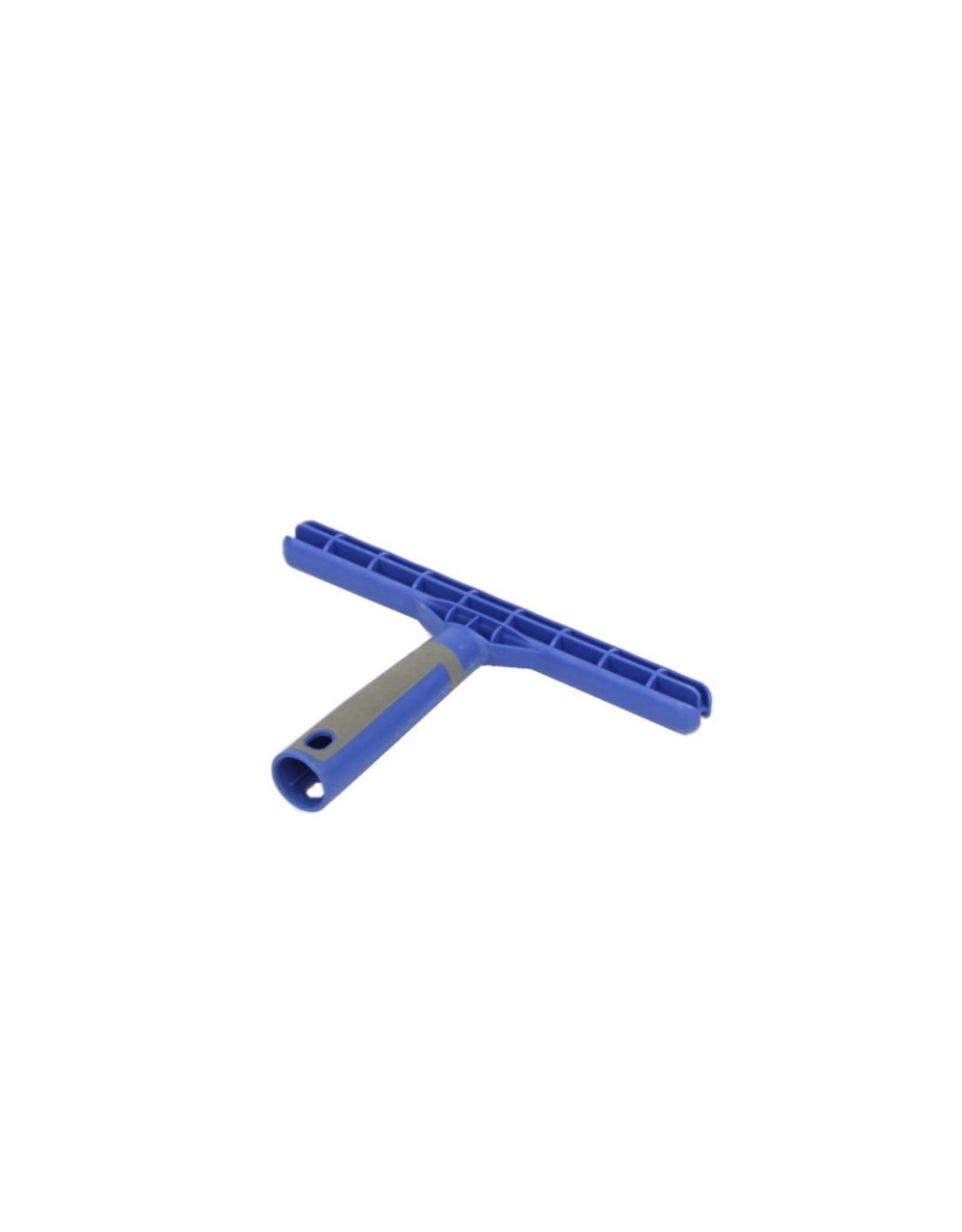 Inwashouder  T  vol kunststof 25cm. blauw