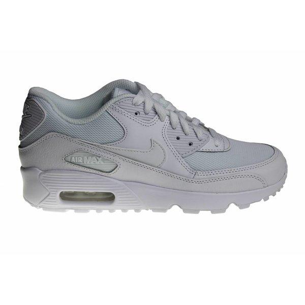 Nike Air Max 90 Mesh (GS) Helemaal Wit 833418 100 Kinder Sneakers
