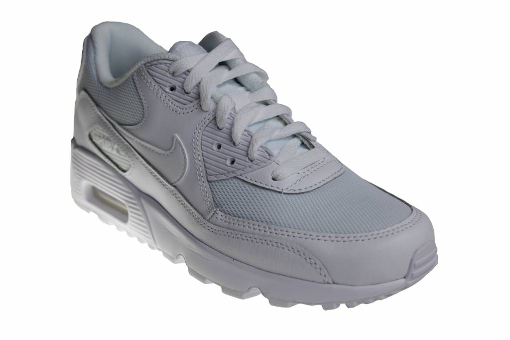 buy popular 5306a 47ed0 Nike Air Max 90 Mesh (GS) 833418 100 (Helemaal Wit) | Sneakerpaleis