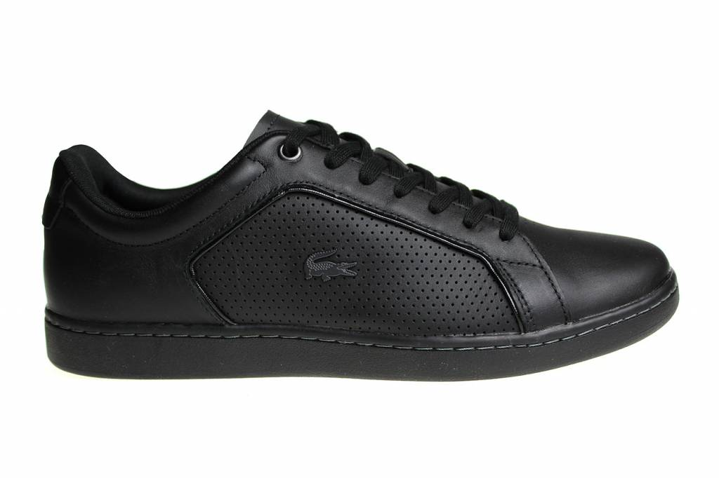 000065f94 Lacoste Carnaby Evo (All Black) 7-34SPM006102H Men s Shoes