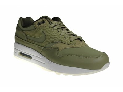 Nike Wmns Air Max 1 Prm (Army Green) 454746 205 Women's Sneakers