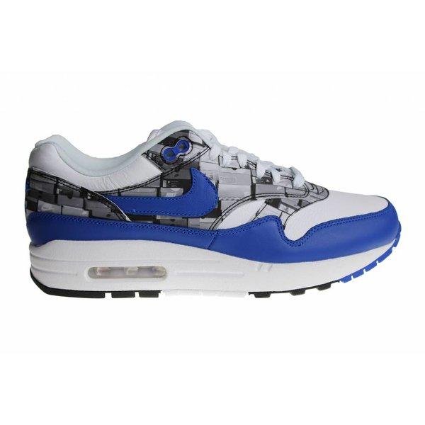 "Nike Air Max 1 Print x Atmos ""I Love Nike"" (Blue) AQ0927 100 Men's Sneakers"
