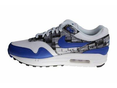 "Nike Air Max 1 Print x Atmos ""I Love Nike"" (Blue) AQ0927 100 Heren Sneakers"