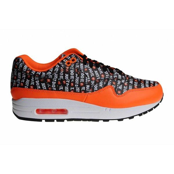 """Nike Air Max 1 Premium """"Just Do It"""" Orange 875844 008 Heren Sneakers"""