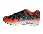 "Nike Air Max 1 Premium ""Just Do It"" Orange 875844 008 Heren Sneakers"