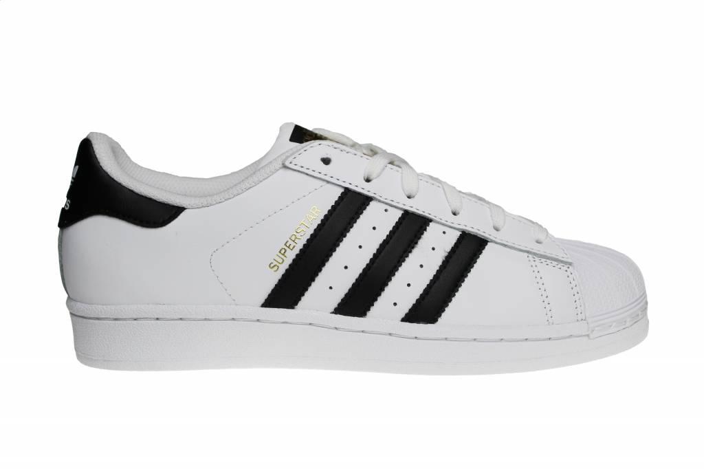 adidas superstar dames zwart wit goud