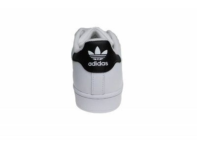 Adidas Superstar J (Juniors) Wit/Zwart/Goud C77154 Jongeren Sneakers
