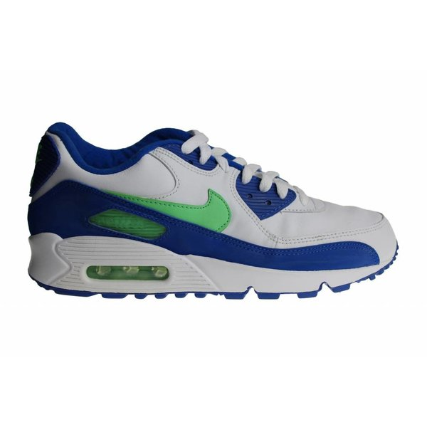 Nike Air Max '90 (White/Blue/Green) 312642 131 Men's Sneakers