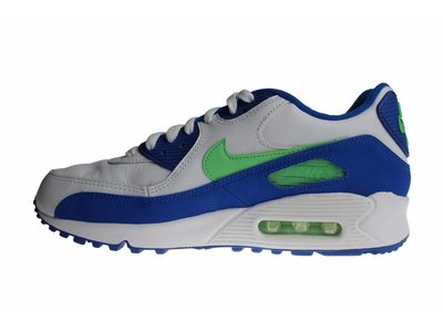 Nike Air Max '90 (Wit/Blauw/Groen) 312642 131 Heren Sneakers