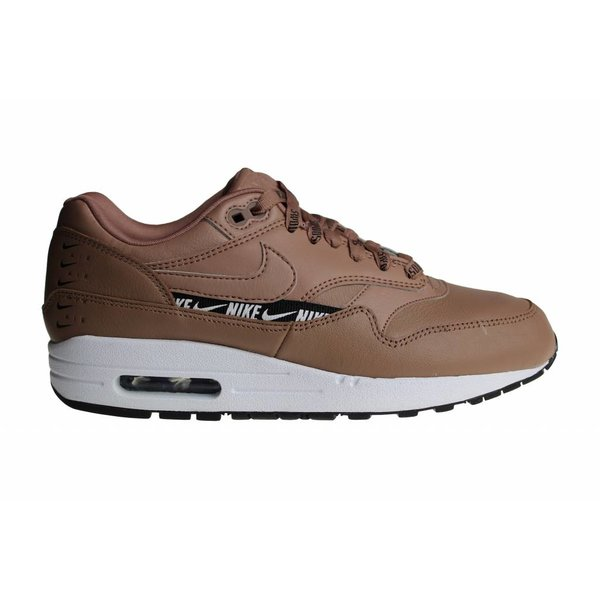 Nike Wmns Air Max 1 SE (Bruin/Wit/Zwart) 881101 201 Dames Sneakers
