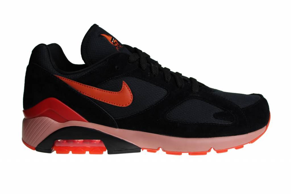 8d9cc531a Nike Air Max 180 Black Orange AV3734 001 Men s Sneakers