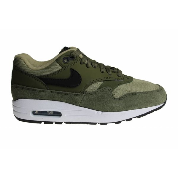 Nike Wmns Air Max 1 (Legergroen/Wit) 319986 304 Dames Sneakers