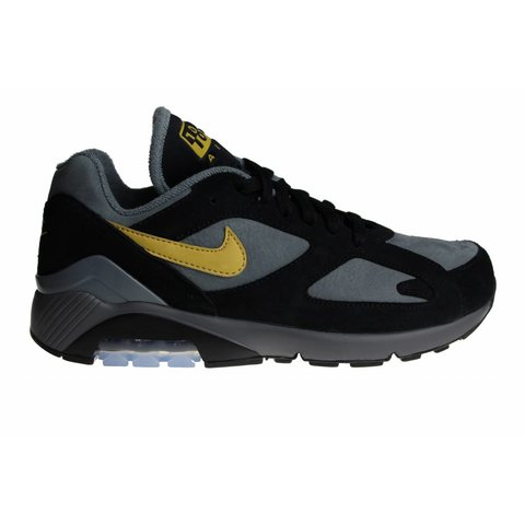 plus récent 4bd3c 5af1b Nike Air Max 180 Black/Grey/Yellow AV7023 001 Men's Sneakers