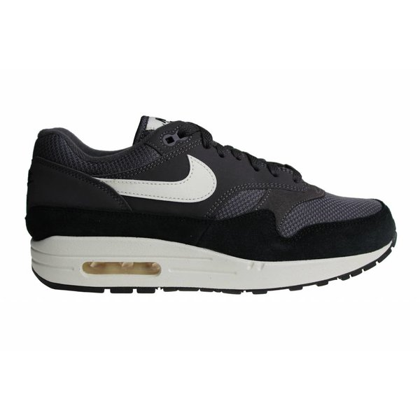 Nike Air Max 1 (Black/Gray/White/Off-White) AH8145 012 Men's Sneakers