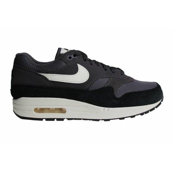 Nike Air Max 1 (Zwart/Grijs/Wit/Gebroken Wit) AH8145 012 Heren Sneakers