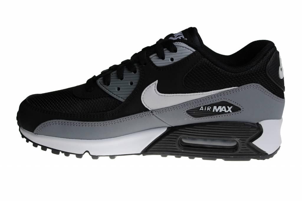 huge discount 2588a 9810f Nike Air Max 90 Essential (Black Grey White) AJ1285 018 Men s Sneakers