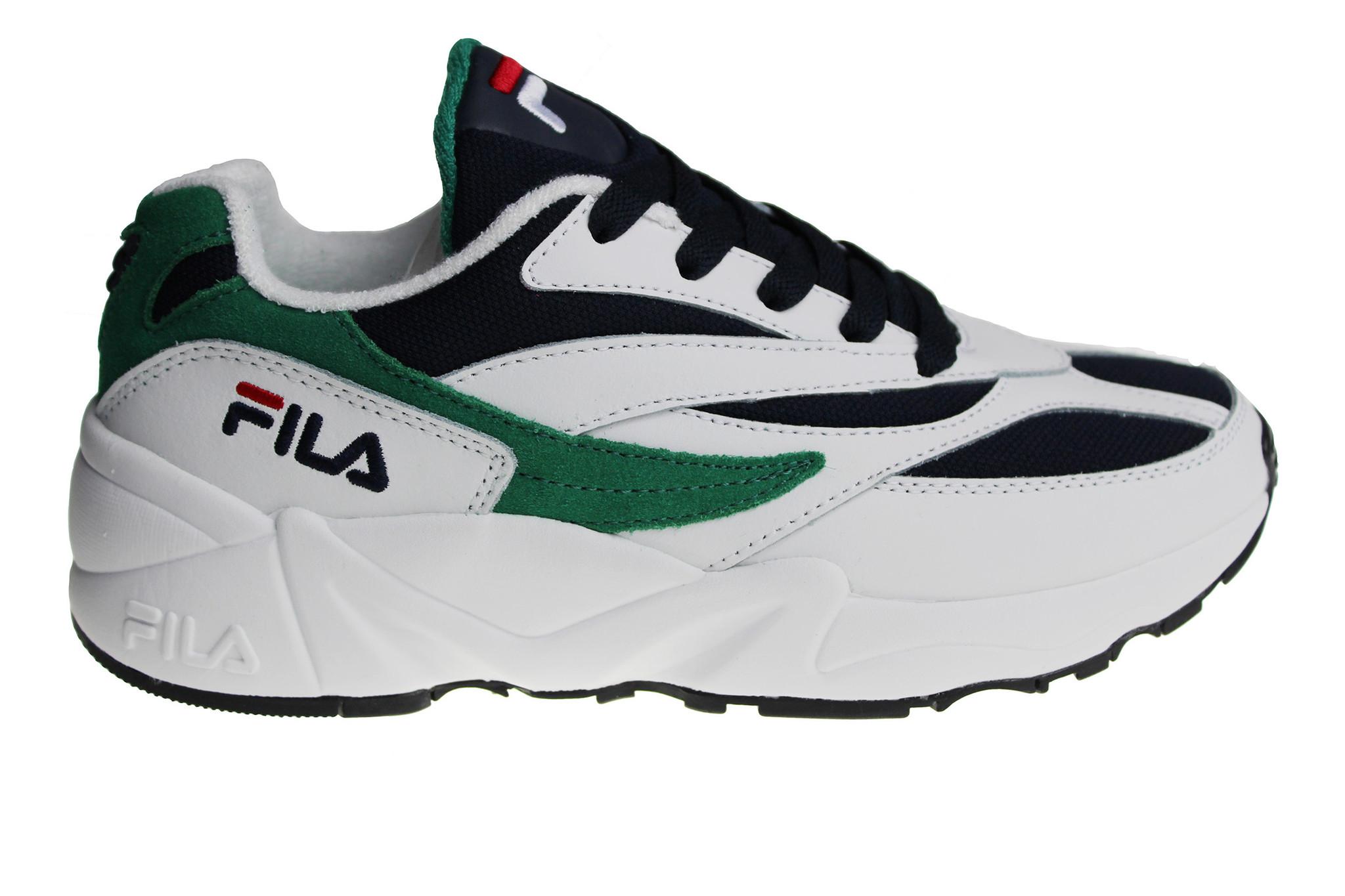 8ae9ccaa Fila V94M Low (White/Green/Black) 1010255.00Q Men's