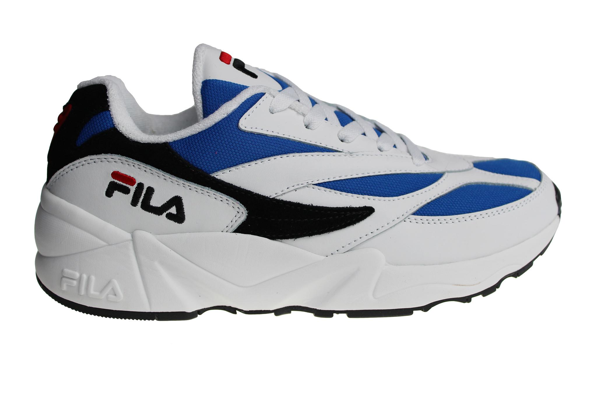 3f24f6466f1 Fila V94M Low (Wit/Blauw/Zwart/Donkerblauw/Rood) 1010255.01U Heren Sneakers