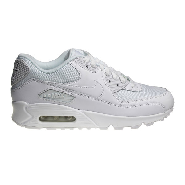 Nike Air Max 90 Essential (All White) 537384 111 Men's Sneakers