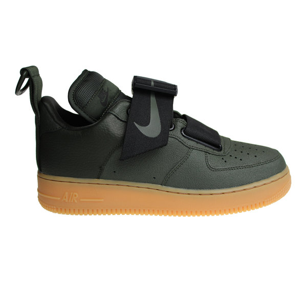 Nike Air Force 1 Utility (Army Green/Black/Brown) AO1531 300 Men's Sneakers