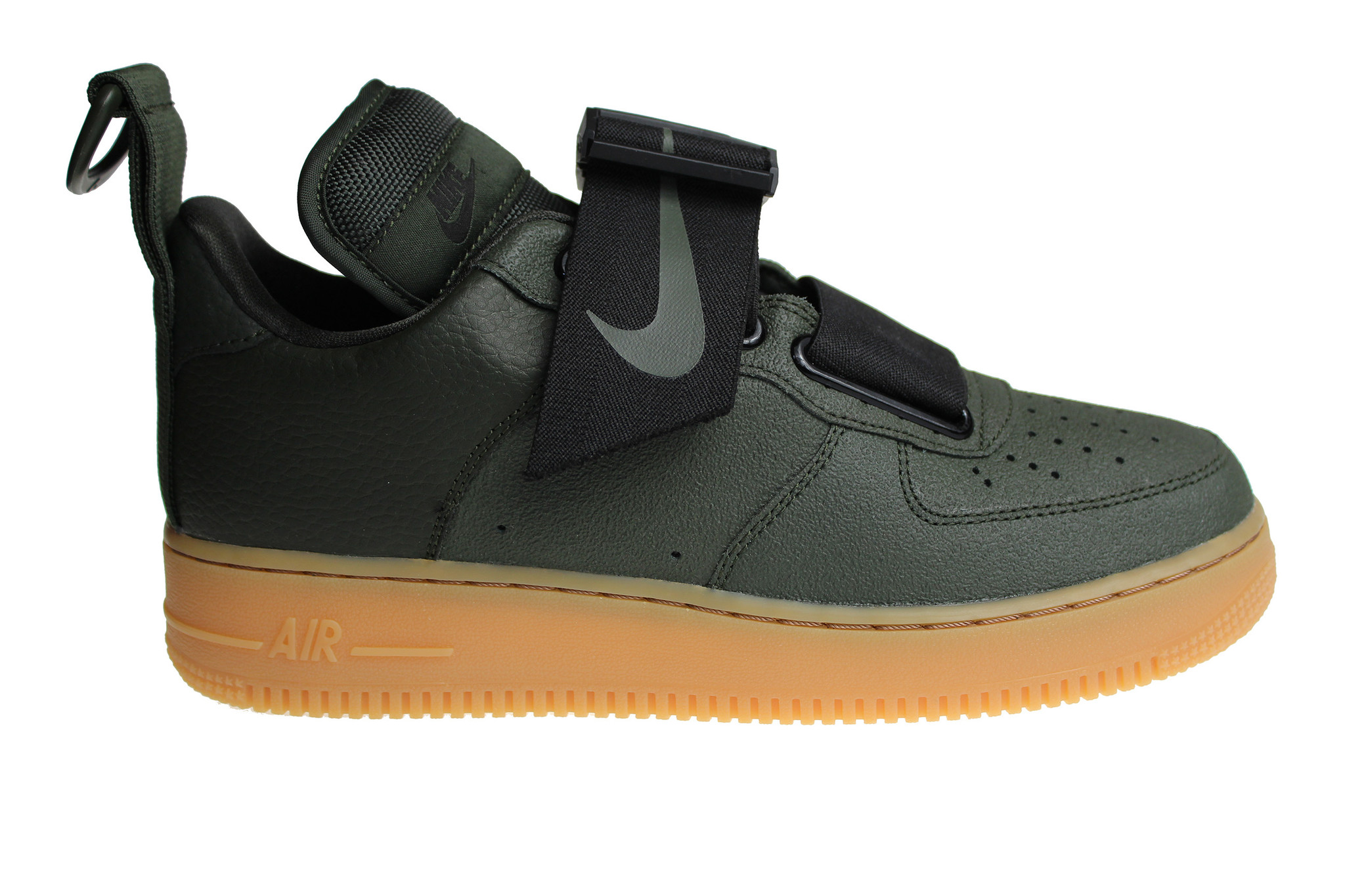 the best attitude 51c97 a6f12 Nike Air Force 1 Utility (Army Green Black Brown) AO1531 300 Men s Sneakers