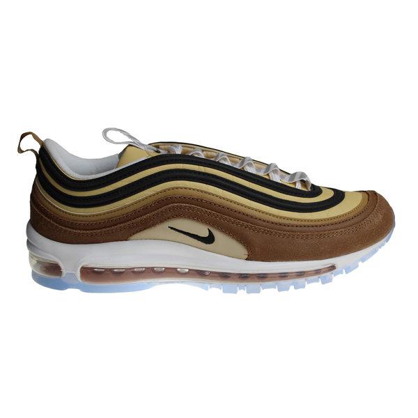 Nike Air Max 97 Bruin/Beige/Wit/Turquoise/Zwart 921826 201 Heren Sneakers