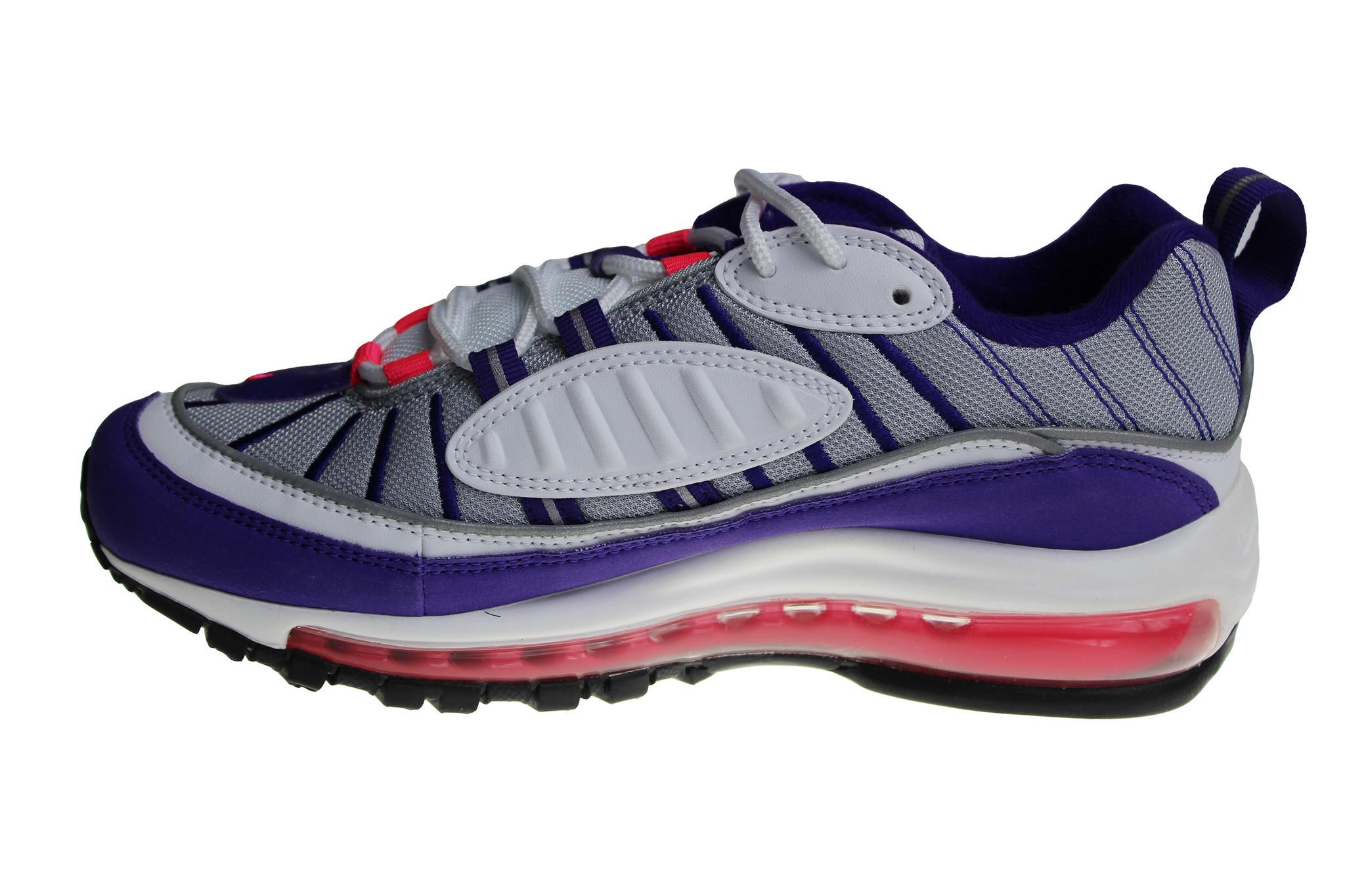 hot sale online ed8b9 a63cd Nike W Air Max 98 Pink/White/Blue/Grey AH6799 110 Women's Sneakers