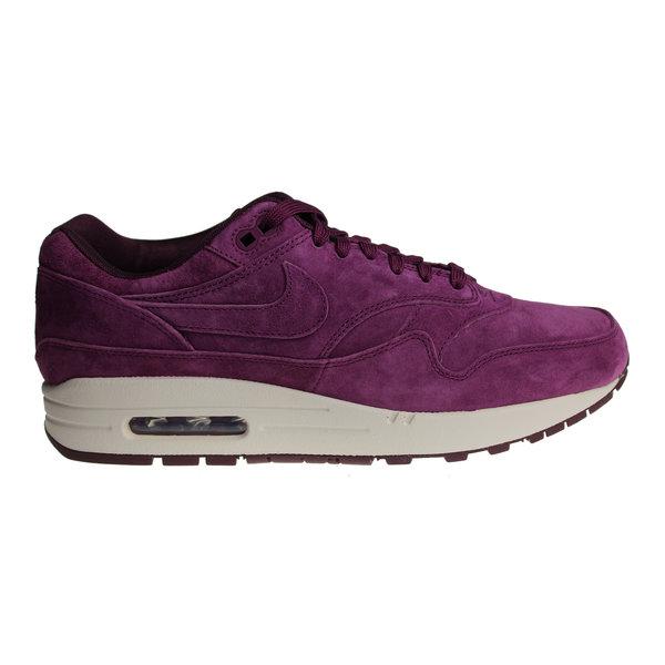 Nike Air Max 1 Premium (Bordeaux/Gebroken Wit) 875844 602 Heren Sneakers