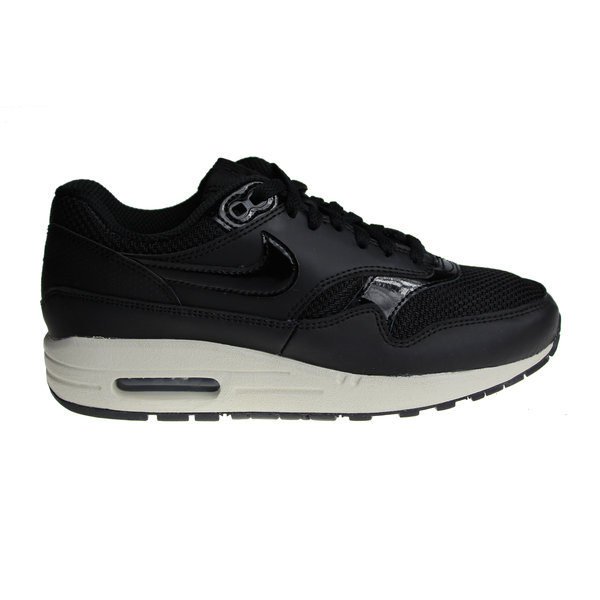Nike Wmns Air Max 1 Zwart/Gebroken Wit 319986 039 Dames Sneakers