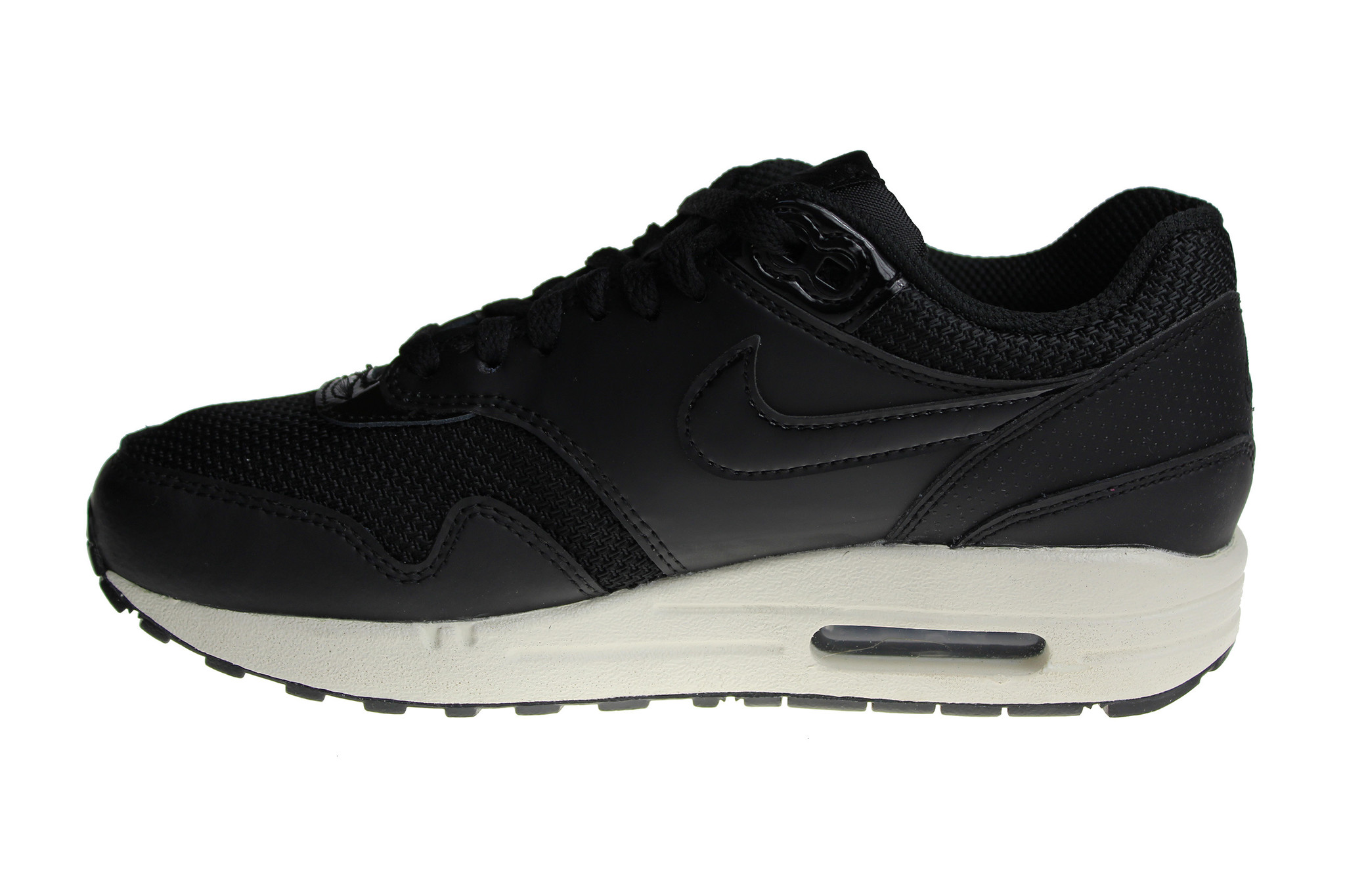 new styles fd8ad 0586f Nike Wmns Air Max 1 Black Off-White 319986 039 Women s Sneakers