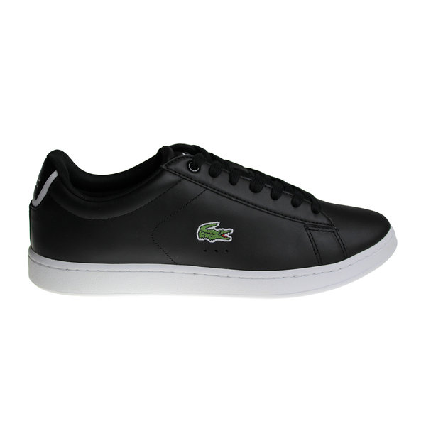 Lacoste Carnaby Evo BL 1 Spm Blk (Black/White) Lth/Syn 7-33SPM1002024 Shoes