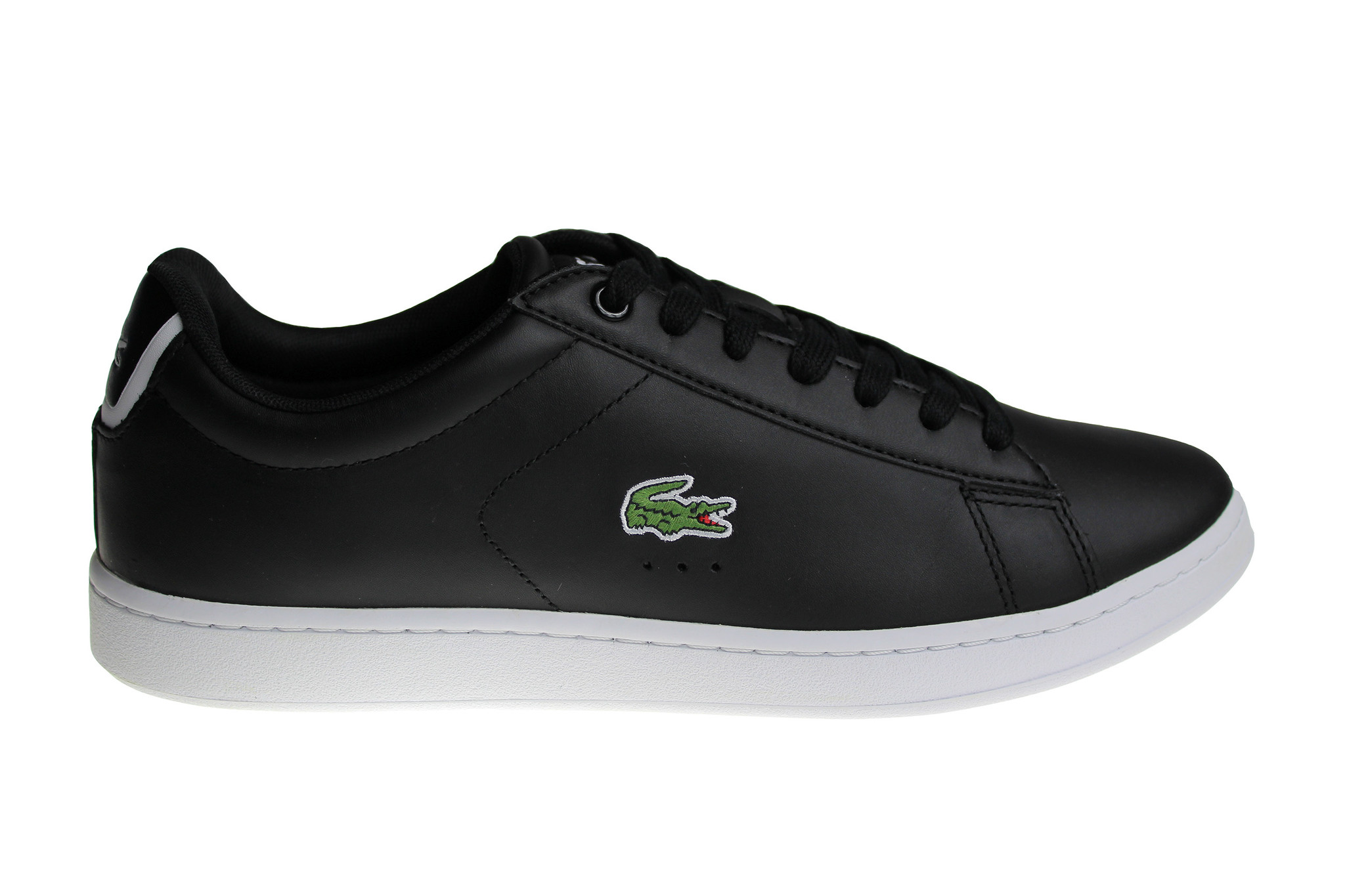 9425d712e Lacoste Carnaby Evo BL 1 Spm Blk (Black White) Lth Syn 7-33SPM1002024 Shoes