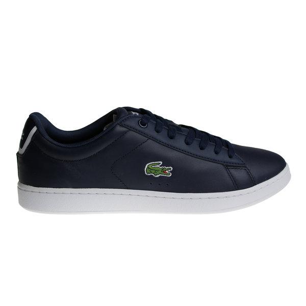 Lacoste Carnaby Evo Bl 1 Spm Nvy (Dark Blue/White) Lth/Syn 7-33SPM1002003 Shoes
