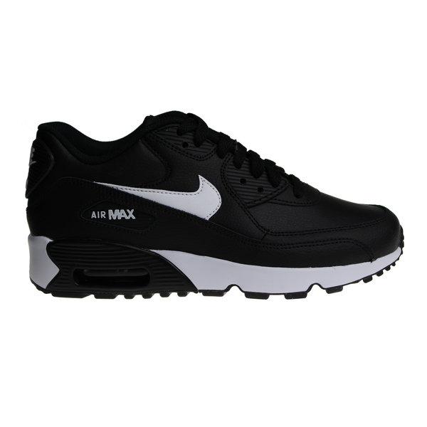 Nike Air Max 90 LTR (GS) Black/White 833412 025 Juniors' Sneakers