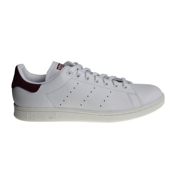 Adidas Stan Smith (White/Maroon/Off-White) DB3526 Men's Sneakers