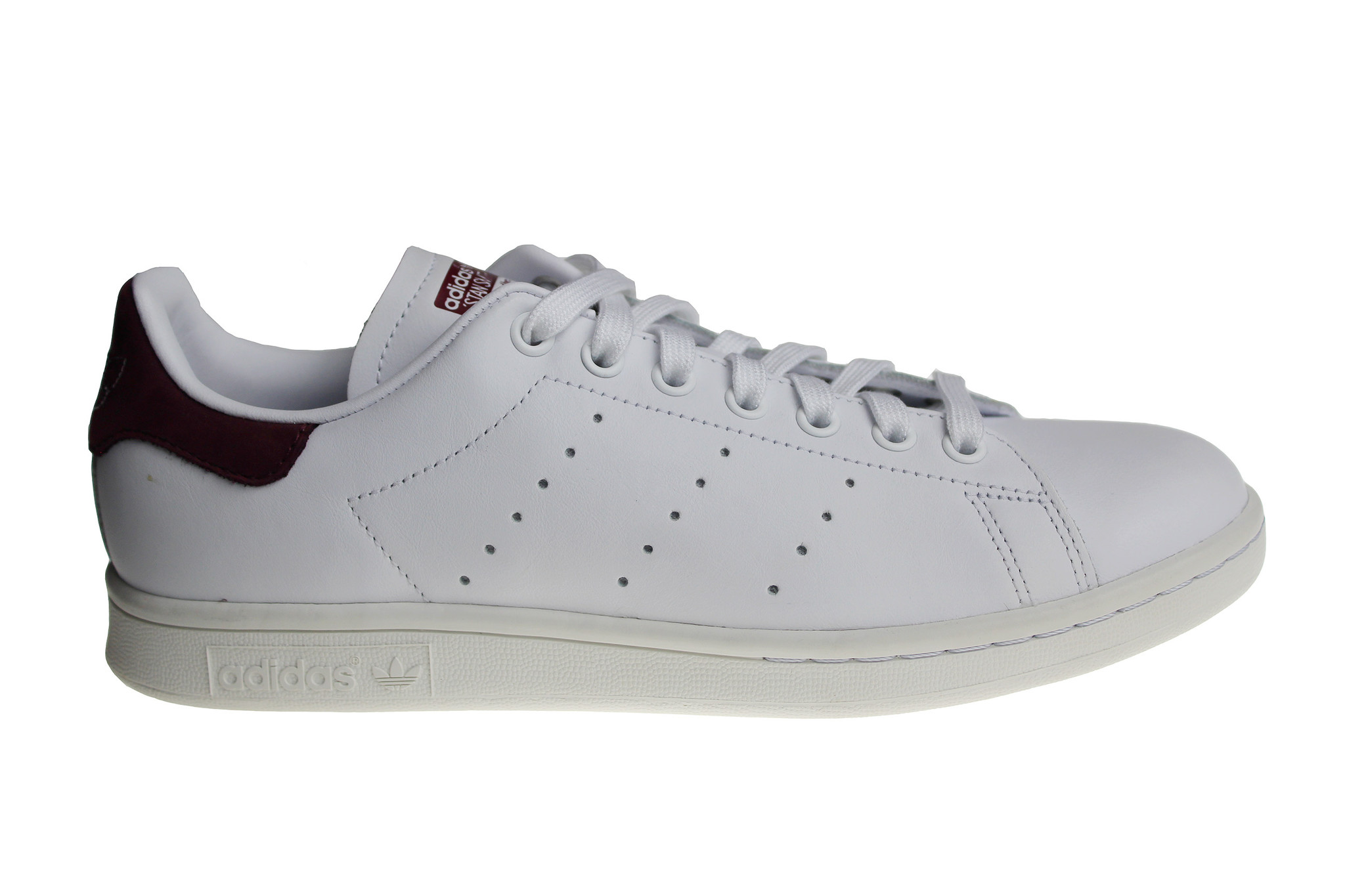 quality design 782d2 eab0c Adidas Stan Smith DB3526 White/Maroon Men's Shoe